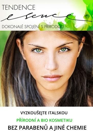 přírodní kosmetika Tendenceesence.cz