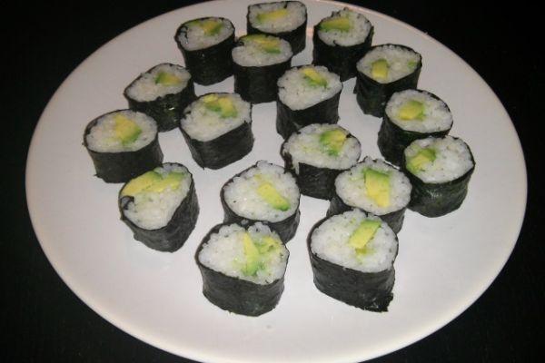 Recept na domácí sushi