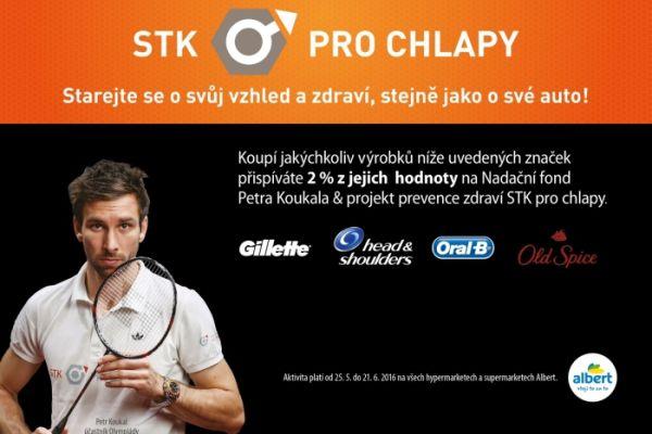 Procter & Gamble a Ahold podpoří projekt STK pro chlapy Petra Koukala