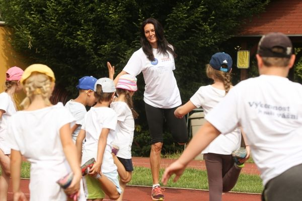 Podpořme společně se Šárkou Kašpárkovou sportující děti