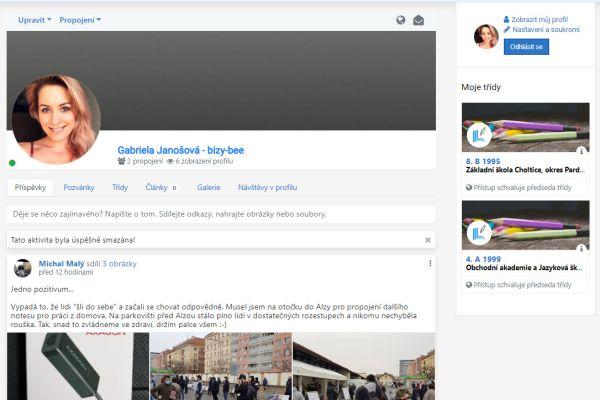 Školství.cz - nový web pro komunikaci mezi spolužáky, učiteli a žáky