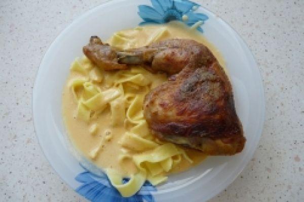 Kuře na paprice podle Zdeňka Pohlreicha
