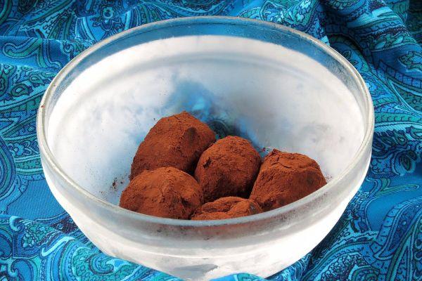 Datlovo-kokosové lanýže