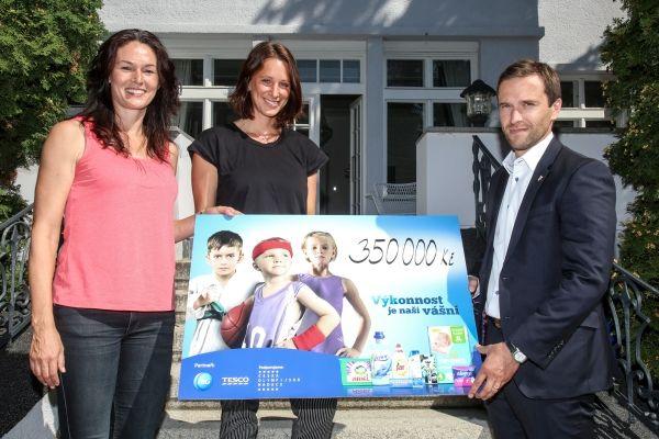 Procter & Gamble ve spolupráci s řetězcem Tesco podpořil sport dětí