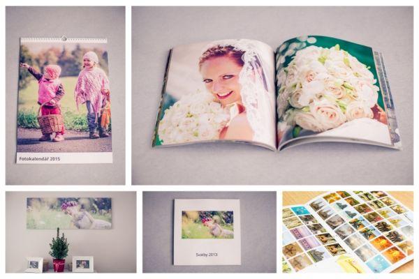 Tip na Vánoční dárek - fotoknihy, kalendáře a fotopexeso